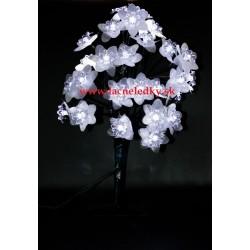 Nádherný dekoračný led bonsai – studená biela farba