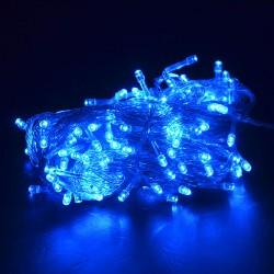 Osvetlenie stromčeka - modré