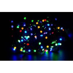 Vianočné led osvetlenie - veľké diódy farebné 240led diód