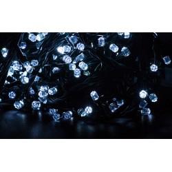 Vianočné led osvetlenie - diamantové diódy studená biela 240led diód