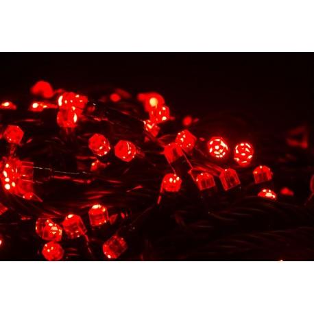 Vianočné led osvetlenie – diamantové diódy červená 240led diód