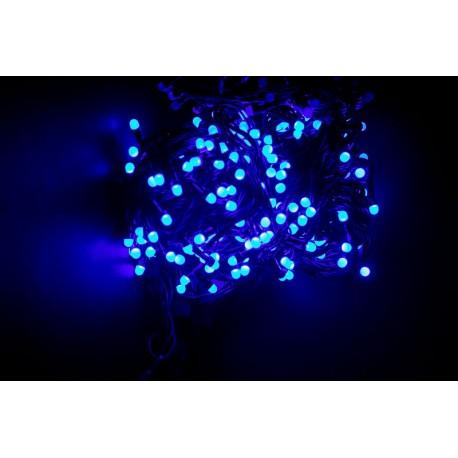 Vianočné led osvetlenie - veľké diódy modré 240led diód