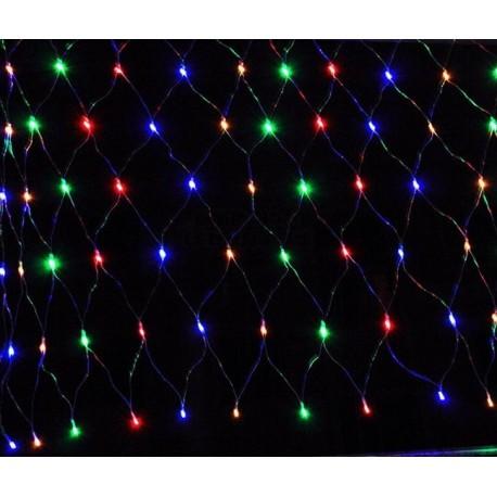 Farebný LED záves