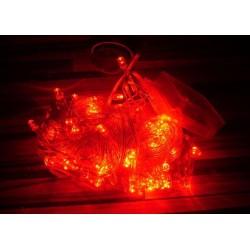 Osvetlenie stromčeka - červené